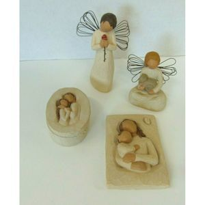 Demdaco Willow Tree Figurine Lot of 4 Home Decor